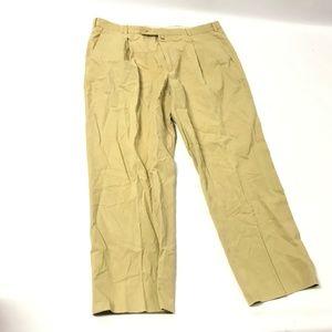 Ermenegildo Zegna Soft Men's Pants Cotton Tan Sz L